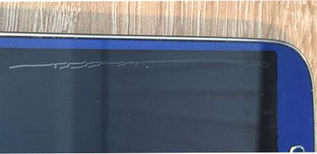 ein weiteres Beispiel für eine billige Samsung S4 Glas Vollverklebung