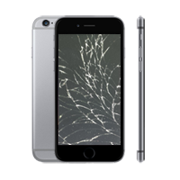 iphone 6 Display Reparatur - Glas Riss