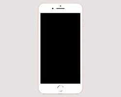 IPHONE X DISPLAY SCHWARZ ABER EINGESCHALTET