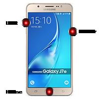 Hard Reset Samsung Galaxy J7 (2016)