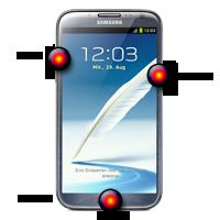 Hard Reset Samsung Note 2