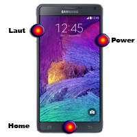 Hard Reset Samsung Note 4