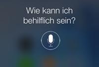 Befehle für Siri